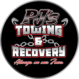 PJs Towing Recovery Logo